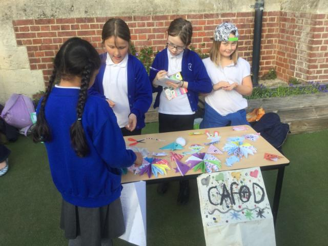 fundraising for cafod